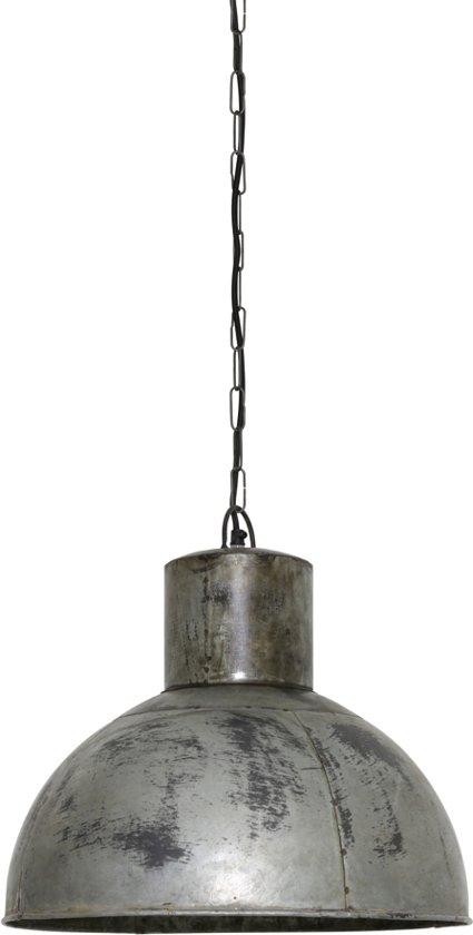 Light & Living Hanglamp  DRIES Ø43x43 cm  -  vintage zilver