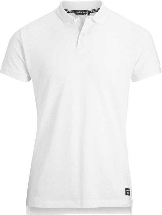 S Bjorn 1p Polo BbcenterSportshirt Borg Casual Mannen Wit WHDE29I