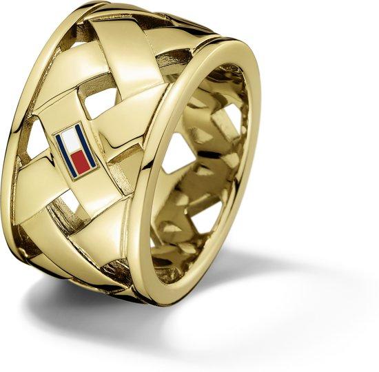Tommy Hilfiger TJ2701024 Ring - Goudkleurig