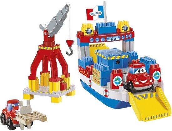 Schip Ferry Met Kraan