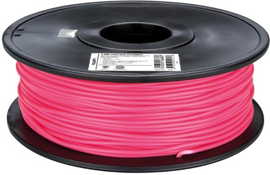 3 mm PLA-DRAAD - ROZE - 1 kg