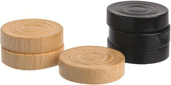 Dammen damspel hout - Jumbo