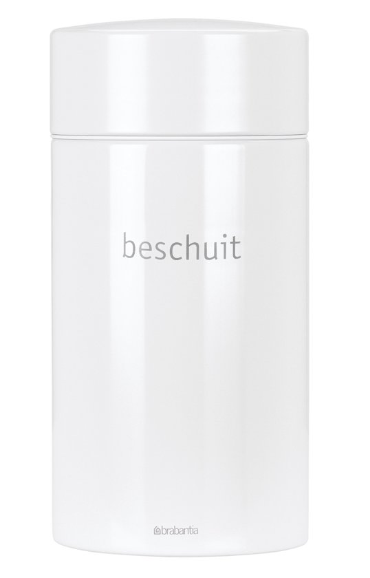 Brabantia Beschuitbus met Lift - 1,7 l - Wit
