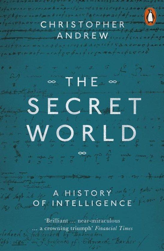 Boek cover Secret world van Christopher Andrew (Paperback)