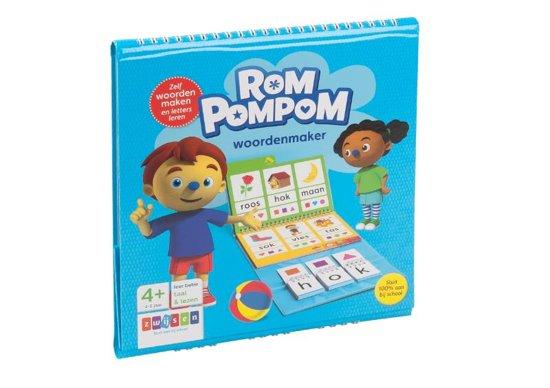 Boek cover Rompompom - Woordenmaker (4-6 jaar) van  (Hardcover)