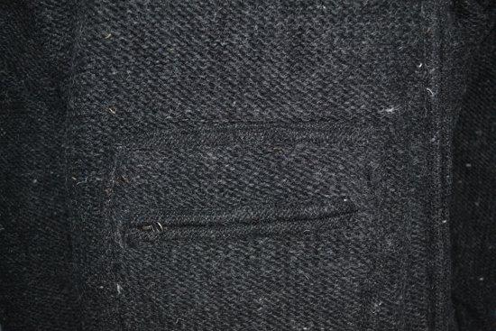L Zwaar Box Met Pocket Jack Maat Unisex Wollen Winter rH0SgH
