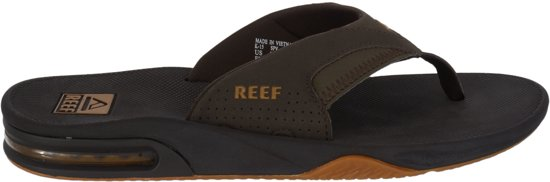 Brown Fanning Flesopener Reef gum Heren Met Slippers P14vAn