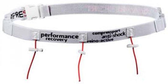 Compressport Race Belt - WHITE - Uniq Size