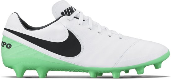 Nike Tiempo Mystic AG Voetbalschoenen - Gras/Kunstgras (FG/AG)  - wit - 41