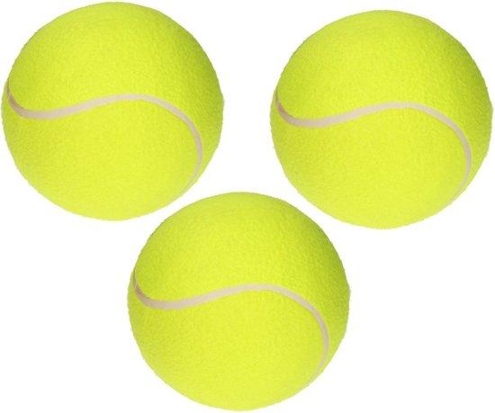 Playfun Tennisballen Geel 3 Stuks