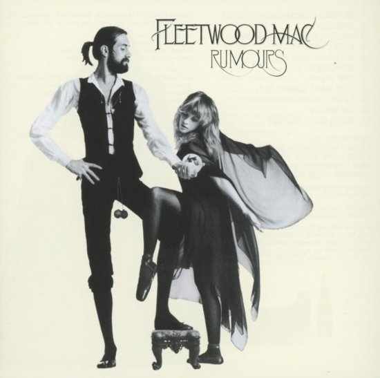 CD cover van Rumours van Fleetwood Mac
