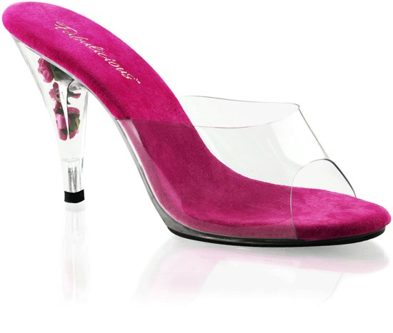 Licht Roze Pumps : Bol.com roze instap pumps belle met bloemetjes in de hak 39