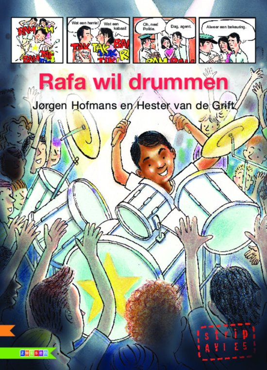Rafa wil drummen