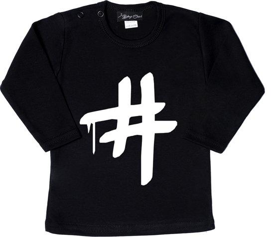 Unisex T-shirt # zwart