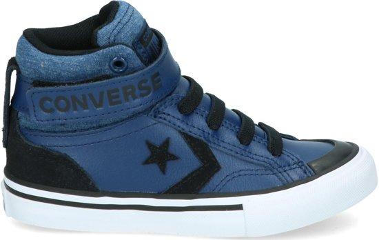 ba81556df3d8e8 Converse Jongens Sneakers Pro Blaze Hi Kids - Blauw - Maat 34