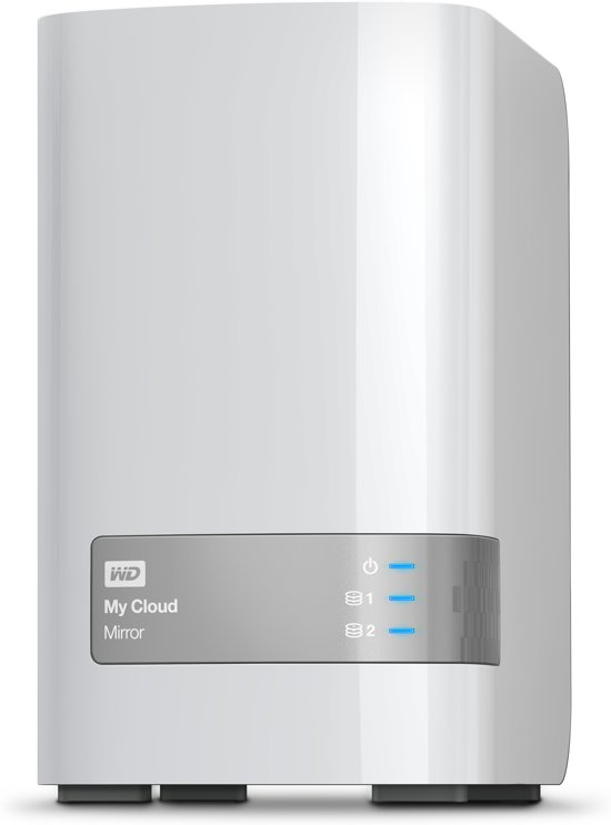 WD My Cloud Mirror V2 4TB (2 x 2TB) / Wit