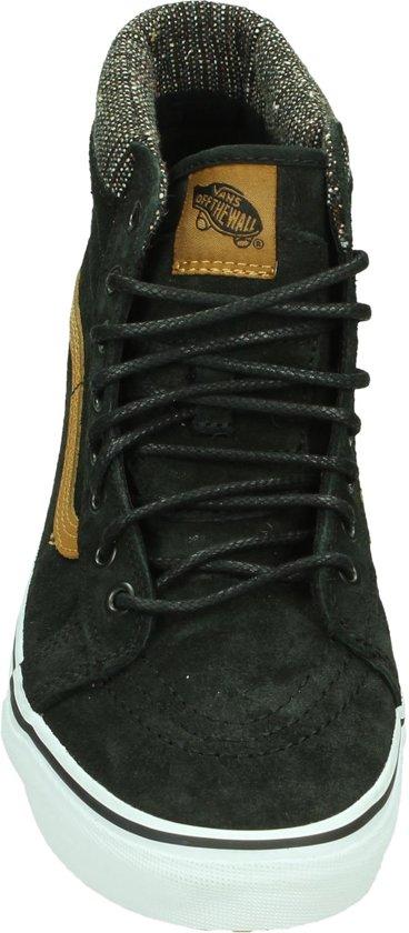 45 Vans Skate Jtf tweed Zwart Unisex Sk8 black Hoog Maat Hi wgqrxfgUY1