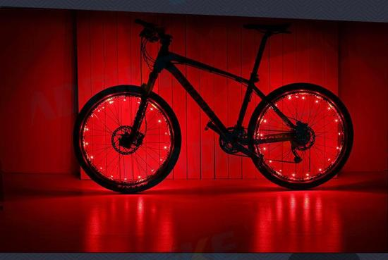 bw led lichtslang voor fiets led verlichting rood
