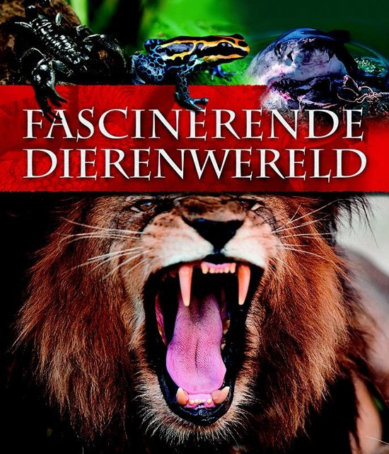 Boek cover Fascinerende dierenwereld van Miranda Smith (Hardcover)