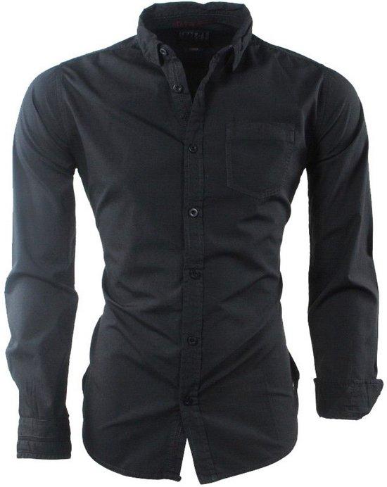 Overhemd Overhemd Borstzak Zwart Mz72Heren Doobir Borstzak Mz72Heren Doobir FcJlK1