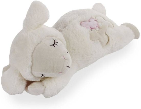 All For Paws Heart Beat Sheep Puppyknuffel - Pluche