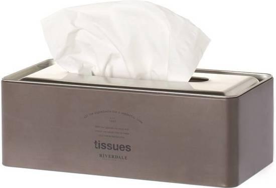 Bolcom Box Tissues Grey 26cm