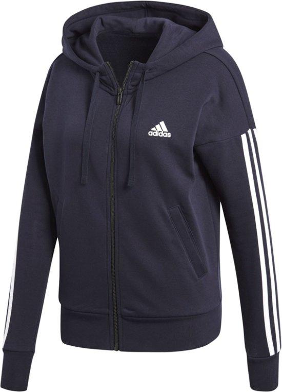Hoodie Maat M Essential Dames Zip 3s Full Adidas wg6zT7Oqx