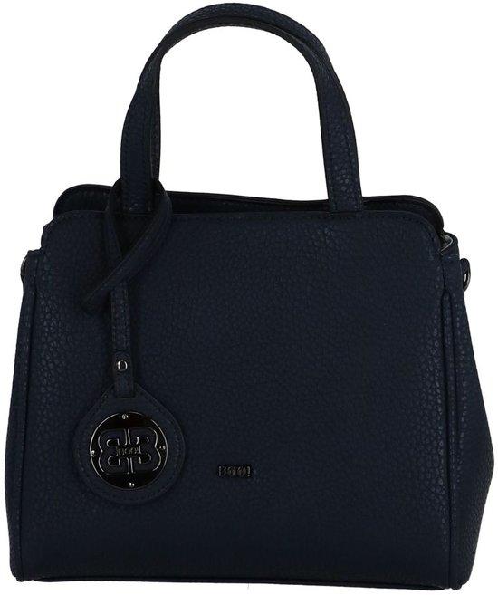 donkerblauwe handtas
