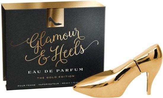 SEXXY SHOE - GLAMOUR & HEELS PARFUM - GOLD 30ml
