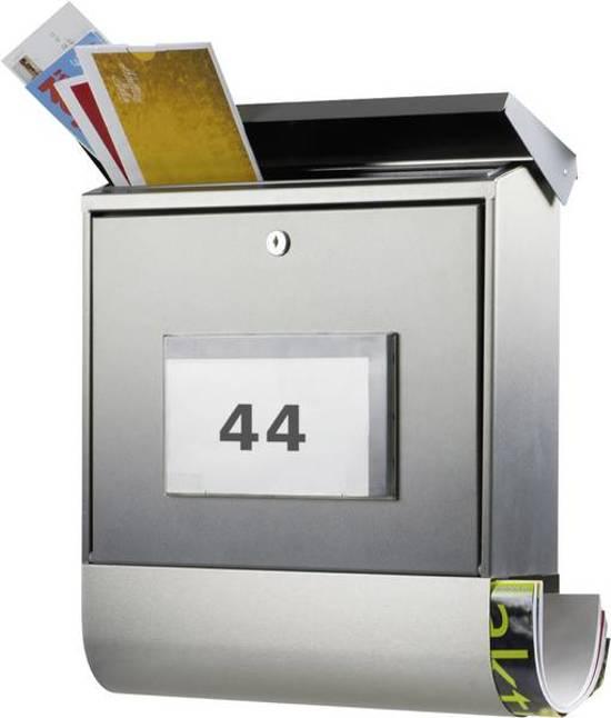 Burg Wächter brievenbus Edelstahl-Briefkasten BAVARIA B 1000 Sleutelslot