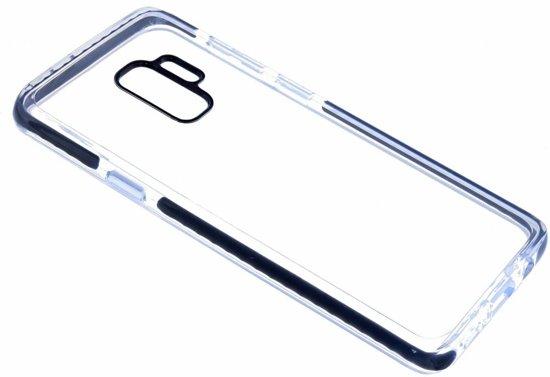 Samsung Galaxy S9 Transparant Back Anti Drop TPU Hoesje Zwart