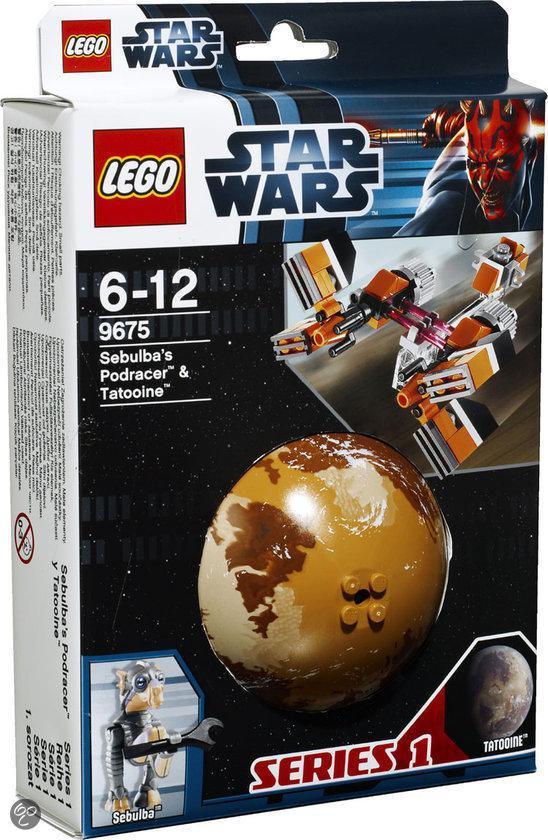 LEGO Star Wars Sebulbas Podracer & Tatooine - 9675