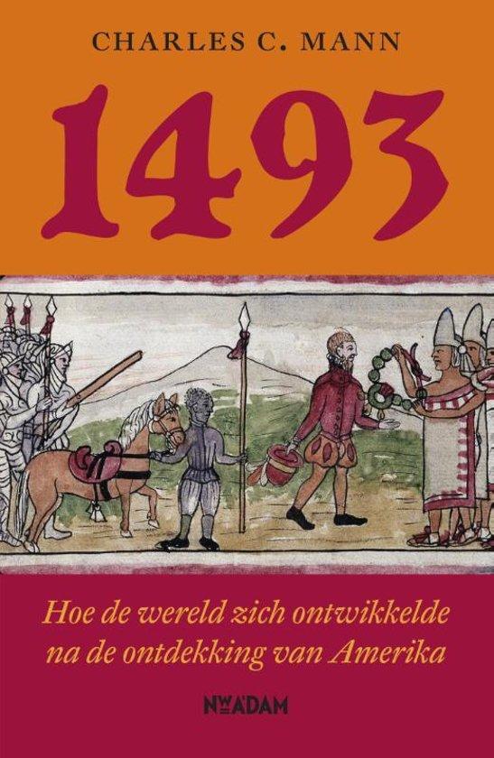 Boek cover 1493 van charles c. mann (Onbekend)