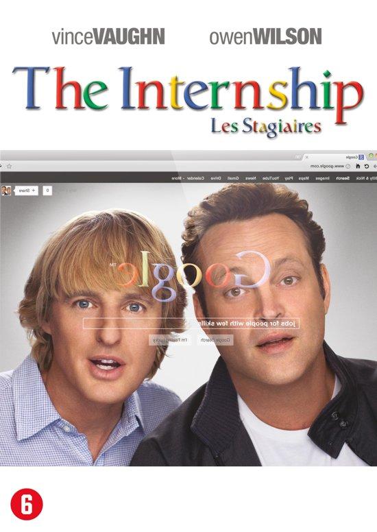 DVD cover van The Internship