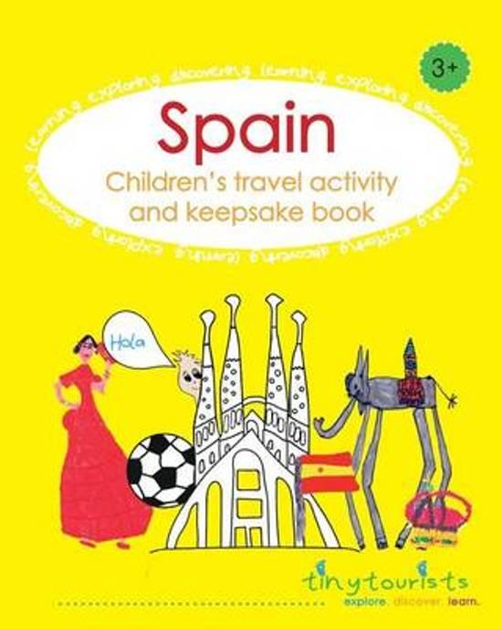 Spain! Children's Travel Activity and Keepsake Book