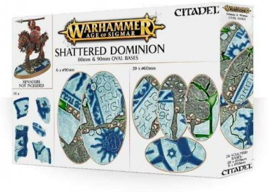 Age of Sigmar Shattered Dominion 60mm & 90mm bases