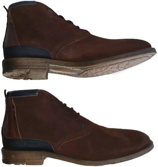   Pme legend bruine suède schoenen Maat 44