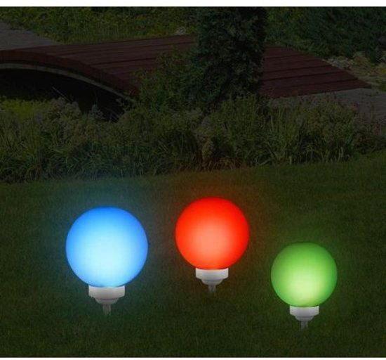 Multicolor Solar LED Bol tuinverlichting