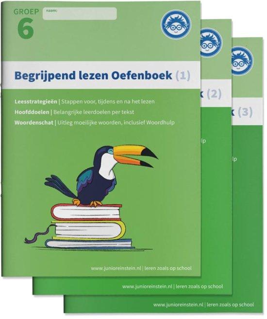 Begrijpend Lezen Oefenboeken Compleet 1 2 en 3 Groep 6 Begrijpen lezen opgaven en antwoordenboek Verschillende type teksten en bijbehorende doelen