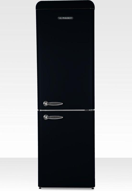 Schneider SL300B-CB - Koel-vriescombinatie - Zwart Matt