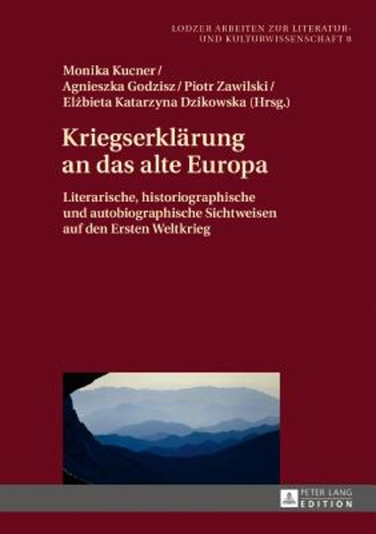 Kriegserklaerung an Das Alte Europa