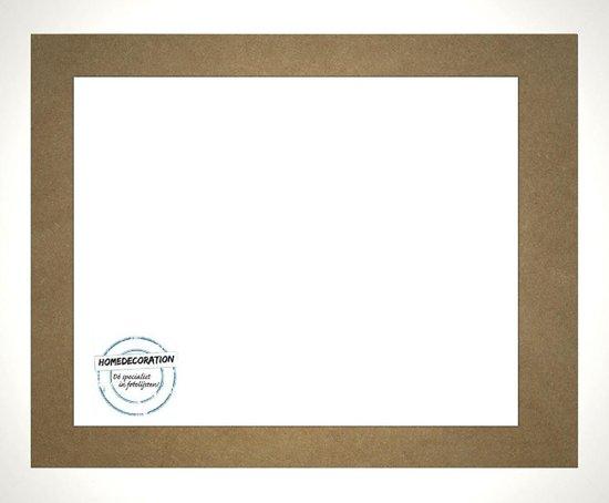 Homedecoration Misano – Fotolijst – Fotomaat – 25 x 79 cm  – Wit hoogglans