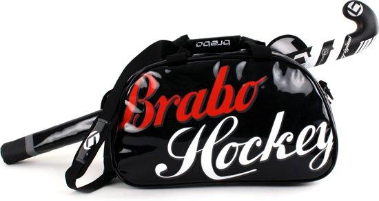 Brabo Enjoy - Schoudertas - Volwassenen - Zwart/ Wit/ Rood