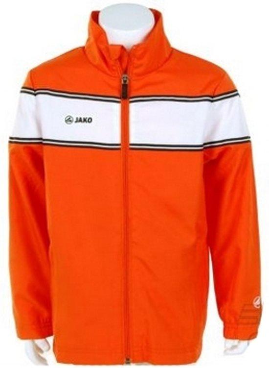 Jako Woven Jack Player Junior - Sportshirt - Kinderen - Maat 164 - Orange;White