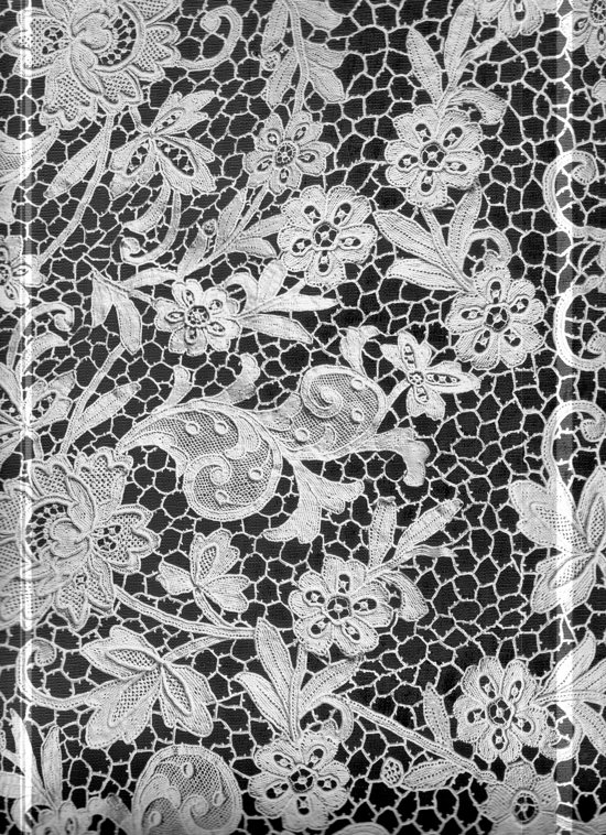 Bolcom Black And White Flowers Placemats 30x43 Cm
