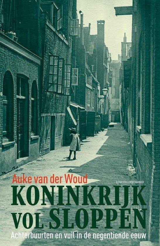 Boek cover Koninkrijk vol sloppen van Auke van der Woud (Hardcover)