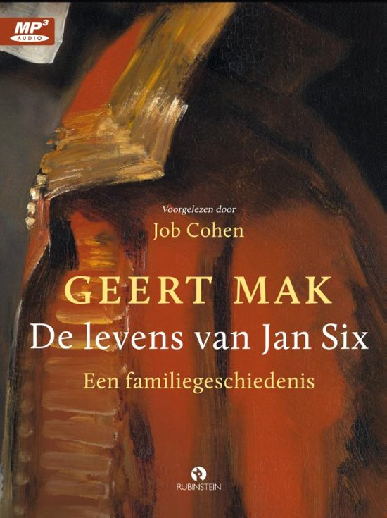 Boekomslag voor De levens van Jan Six