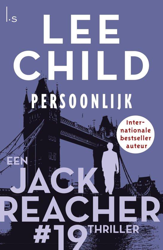 Boekomslag voor Jack Reacher 19 - Persoonlijk