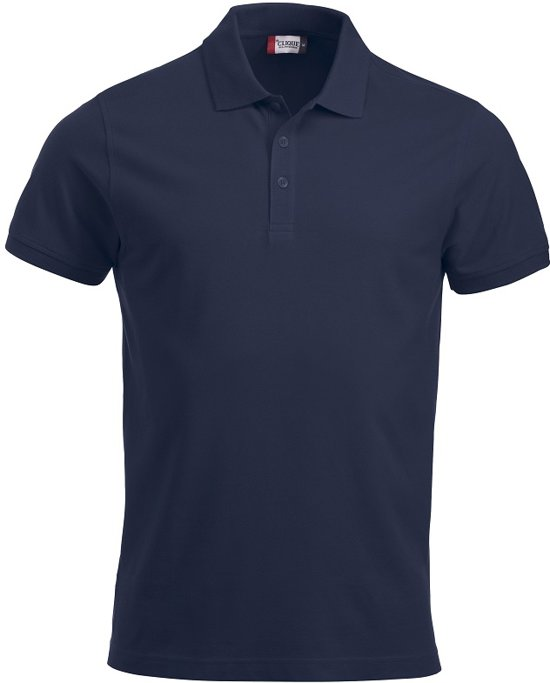 Clique New Classic Lincoln S/S Donker Navy maat XS
