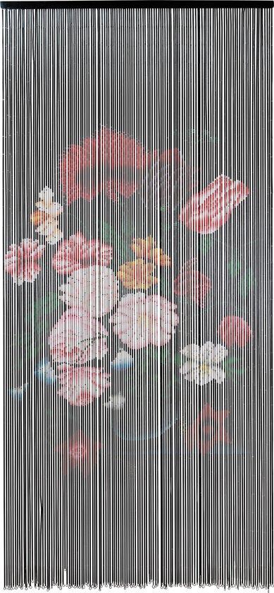 Vliegengordijn Met Print.Bol Com Vliegengordijn Classic Flowers